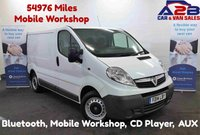 USED 2014 14 VAUXHALL VIVARO 2.0 2700 CDTI 115 BHP, Bluetooth, Mobile Workshop, Metal Bulkhead, CD Player **Drive Away Today** Over The Phone Low Rate Finance Available, Just Call us on 01709 866668**