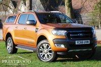 USED 2016 66 FORD RANGER 3.2 TDCI WILDTRAK 4X4 DOUBLE CAB PICK-UP AUTO [200 BHP]