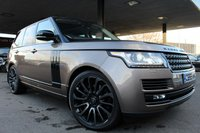 2015 LAND ROVER RANGE ROVER 4.4 SDV8 VOGUE SE 5d AUTO 339 BHP £44500.00