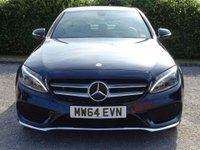 USED 2014 64 MERCEDES-BENZ C CLASS 2.1 C220 BLUETEC AMG LINE 4d FULL SERVICE HISTORY * SAT NAV * BLUETOOTH * FULL HEATED LEATHER INTERIOR