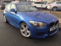 USED 2014 64 BMW 1 SERIES 2.0 116D M SPORT 5d 114 BHP 2 OWNERS + M SPORT ALLOYS + SPORTS SEATS