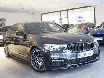 2018 BMW 5 SERIES  520D XDRIVE M SPORT 4d AUTO 188 BHP £29990.00