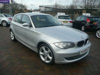 2008 BMW 1 SERIES 2.0 118D EDITION ES 5d 141 BHP £3899.00