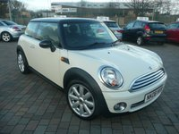 2008 MINI HATCH COOPER 1.6 COOPER 3d 118 BHP £SOLD