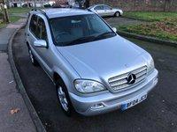 2004 MERCEDES-BENZ M CLASS 3.7 ML350 5d AUTO 245 BHP £2995.00