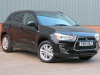USED 2014 14 MITSUBISHI ASX 1.8 DI-D 4 5d 114 BHP 4WD ONE OWNETR FROM NEW