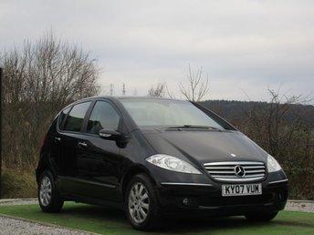 2007 MERCEDES-BENZ A CLASS 1.5 A150 ELEGANCE SE 5d AUTO 94 BHP £2990.00