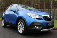 USED 2015 65 VAUXHALL MOKKA 1.4 EXCLUSIV S/S 5d 138 BHP A LOVELY SPEC MOKKA WITH LOW OWNERS AND FULL VAUXHALL HISTORY!!!