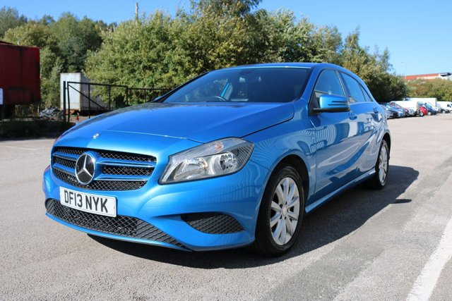 USED 2013 13 MERCEDES-BENZ A-CLASS 1.6 A180 BLUEEFFICIENCY SE 5d 122 BHP SATELLITE NAVIGATION - BLUETOOTH - HALF LEATHER SPORT SEATS - 3 MONTH WARRANTY