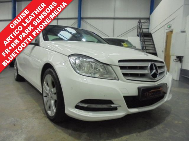 2012 62 MERCEDES-BENZ C CLASS 2.1 C220 CDI BLUEEFFICIENCY EXECUTIVE SE 4d 168 BHP