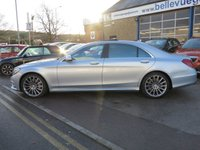 USED 2015 65 MERCEDES-BENZ S CLASS 4.7 S 500 L AMG LINE 4d AUTO 449 BHP