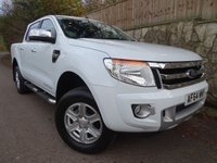 2014 FORD RANGER 2.2 LIMITED 4X4 DCB TDCI 1d 148 BHP DOUBLE CAB PICK UP £13695.00