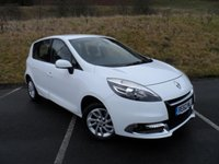 USED 2012 62 RENAULT SCENIC 1.6 DYNAMIQUE TOMTOM VVT 5d 110 BHP ONE OWNER WITH SERVICE HISTORY