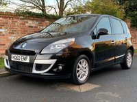 USED 2010 60 RENAULT SCENIC 1.5 PRIVILEGE TOMTOM DCI 5d 105 BHP 2 OWNERS, FULL SERVICE HISTORY, MOT DEC 19, FULLY PREPARED, EXCELLENT CONDITION, NAV,  ALLOYS, CRUISE, CLIMATE, E/WINDOWS, R/LOCKING, FREE  WARRANTY, FINANCE AVAILABLE, HPI CLEAR, PART EXCHANGE WELCOME,