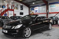 USED 2013 13 MERCEDES-BENZ E-CLASS 2.1 E220 CDI BLUEEFFICIENCY SPORT 2d AUTO 170 BHP