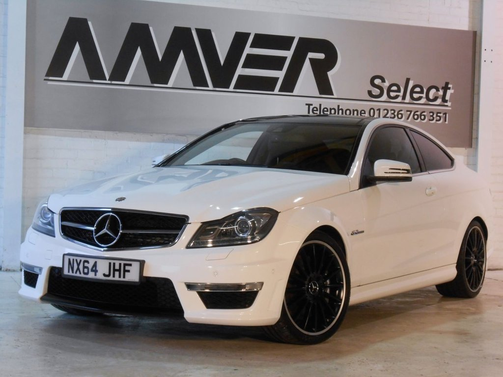 USED 2014 64 MERCEDES-BENZ C CLASS 6.2 C63 AMG 2d AUTO 457 BHP