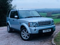 2011 LAND ROVER DISCOVERY 3.0 4 SDV6 XS 5d AUTO 245 BHP £18885.00