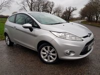 2010 FORD FIESTA 1.4 ZETEC 16V 3d AUTO + 1 FORMER KEEPER + HISTORY £4250.00