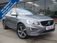 USED 2015 VOLVO XC60 2.4 D4 R-DESIGN AWD 5d 187 BHP ONE FORMER KEEPER FROM NEW, FULL VOLVO MAIN DEALER SERVICE HISTORY