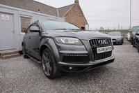 USED 2012 62 AUDI Q7 S Line Plus Quattro 3.0 TDI Tip Auto 5dr ( 245 bhp ) Outstanding Example with Full Audi Service History Massive Spec Daytona Grey Metallic Paint Cheaper Road Tax Bracket