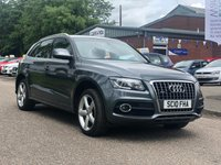 USED 2010 10 AUDI Q5 2.0 TFSI QUATTRO S LINE 5d 178 BHP 1 PREVIOUS KEEPER *  FULL AUDI SERVICE RECORD *  FULL LEATHER TRIM *  CLIMATE CONTROL *  PARKING AID