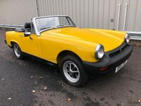 1980 MG MIDGET 1500 CLASSIC SPORTS CAR WITH JUST 900 MILES FROM NEW!! £14995.00
