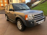 2007 LAND ROVER DISCOVERY 2.7 3 TDV6 SE 5d 188 BHP £7995.00