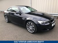 USED 2009 59 BMW M3 4.0 V8 M3 COUPE DCT 414 BHP 2 OWNERS, FULL BMW HISTORY, RED LEATHER