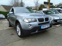 USED 2008 57 BMW X3 2.0 D SE 5d 175 BHP
