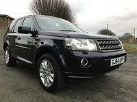 2014 LAND ROVER FREELANDER 2.2 TD4 SE 5d 150 BHP 4x4 stunning well looked after car compare our price  £10595.00