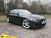 USED 2013 13 BMW 3 SERIES 2.0 318D M SPORT TOURING 5d 141 BHP FULL HEATED LEATHER INTERIOR