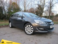 USED 2015 15 VAUXHALL ASTRA 2.0 ELITE CDTI S/S 5d 163 BHP FULL HEATED LEATHER INTERIOR, FRONT AND REAR SENSORS