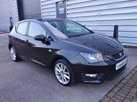 2013 SEAT IBIZA 1.6 CR TDI FR 5d 104 BHP £4890.00