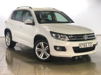 USED 2015 65 VOLKSWAGEN TIGUAN 2.0 R LINE TDI BLUEMOTION TECHNOLOGY 4MOTION 5d 148 BHP 1 OWNER | SAT NAV | BLUETOOTH