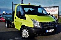 2012 FORD TRANSIT 2.2 350 RWD 100 BHP TIPPER £10795.00