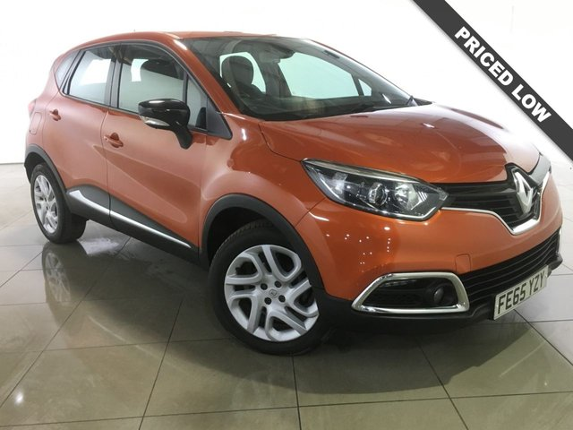 View our 2015 65 RENAULT CAPTUR 1.5 DYNAMIQUE NAV DCI 5d AUTO 90 BHP
