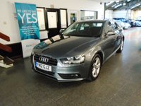 USED 2012 12 AUDI A4 2.0 TDI SE 4d AUTO 141 BHP Two owners- last lady since 2013. Full and complete Audi service history, cambelt replaced 2017, May Mot but supplied with 12 months. Finished in Metallic Monsoon Grey.