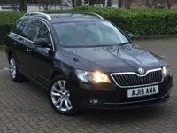 2015 SKODA SUPERB 2.0 SE BUSINESS TDI CR DSG 5d AUTO 138 BHP £12495.00