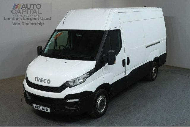 2015 15 IVECO DAILY 2.3 35S13V 126 BHP L2 MWB H/ROOF PANEL VAN ONE OWNER SPARE KEY