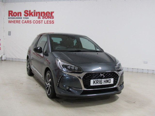 View our 2016 16 DS DS 3 1.6 BLUEHDI PRESTIGE S/S 3d 118 BHP
