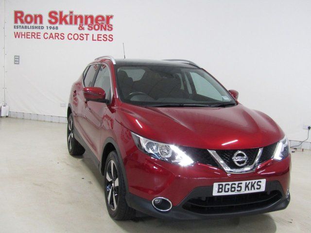 View our 2015 65 NISSAN QASHQAI 1.6 N-TEC PLUS DIG-T 5d 163 BHP