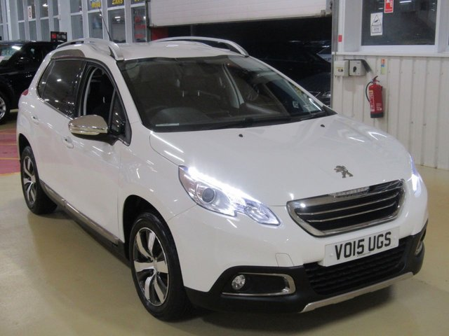 View our 2015 15 PEUGEOT 2008 1.6 E-HDI ALLURE 5d 92 BHP