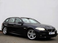 USED 2012 12 BMW 5 SERIES 2.0 520D M SPORT TOURING 5d 181 BHP Professional Navigation with Adaptive Xenon Headlights...... Rare Manual Transmission......