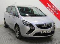 USED 2015 15 VAUXHALL ZAFIRA TOURER 1.4 SRI 5d 138 BHP  1 Owner, Full Service History and 12 Months MOT. The stunning 7 Seater Zafira Tourer was first registered on the 20th June 2015 and comes in metallic Sovereign Silver and is fully equipped with Front and Rear Parking Sensors, Air Conditioning, Leather Multi Functional Steering Wheel, USB/Aux and Alloy Wheels. Nationwide delivery Available. Finance Available at 9.9% APR Representative.