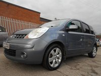 USED 2008 08 NISSAN NOTE 1.5 TEKNA DCI 5d 85 BHP 2 FORMER KEEPERS