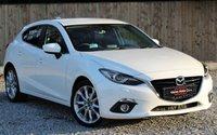2015 MAZDA 3 2.2 D SPORT NAV 5d AUTO 148 BHP £11695.00