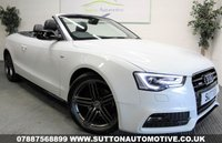2013 AUDI A5 2.0 TDI S LINE SPECIAL EDITION 2d 175 BHP £12450.00