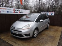 USED 2007 52 CITROEN C4 GRAND PICASSO 1.6 VTR PLUS HDI EGS 5d AUTO 110 BHP FINANCE AVAILABLE FROM £21 PER WEEK OVER TWO YEARS - SEE FINANCE LINK FOR OPTIONS