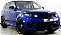USED 2016 16 LAND ROVER RANGE ROVER SPORT 5.0 V8 Supercharged SVR 4X4 (s/s) 5dr  Head Up, Surround Cams, TV ++