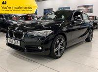 USED 2016 65 BMW 1 SERIES 1.5 118I SPORT NAV 3d 134 BHP